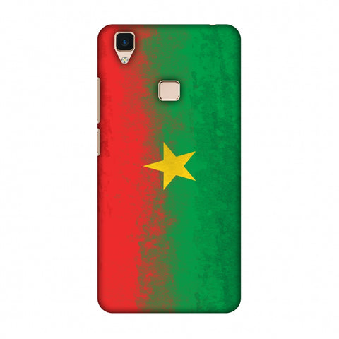 Love For Burkina Faso Slim Hard Shell Case For Vivo V3