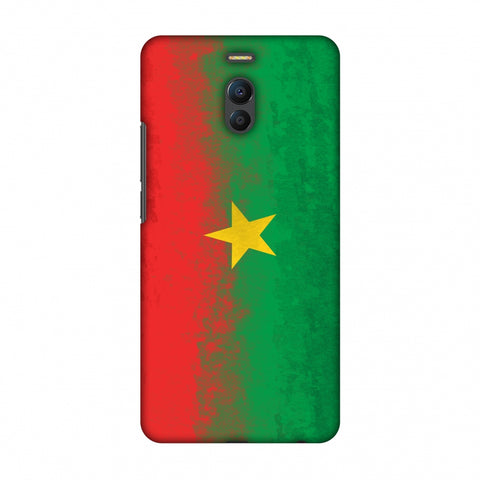 Love For Burkina Faso Slim Hard Shell Case For Meizu Note 6