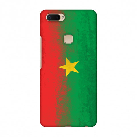 Love For Burkina Faso Slim Hard Shell Case For Vivo X20 Plus