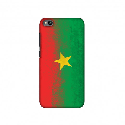 Love For Burkina Faso Slim Hard Shell Case For Redmi Go