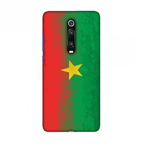 Love For Burkina Faso Slim Hard Shell Case For Redmi K20/K20 Pro