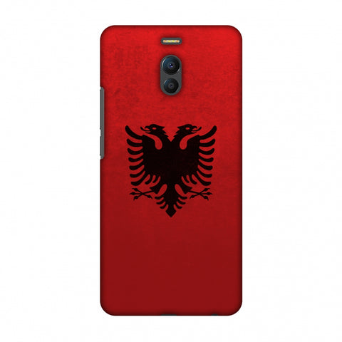 Love For Albania Slim Hard Shell Case For Meizu Note 6