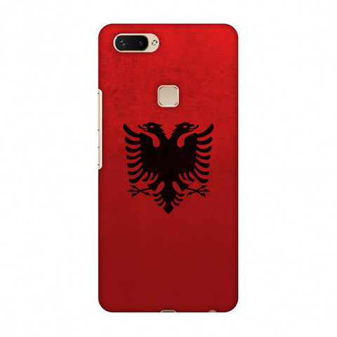 Love For Albania Slim Hard Shell Case For Vivo X20 Plus