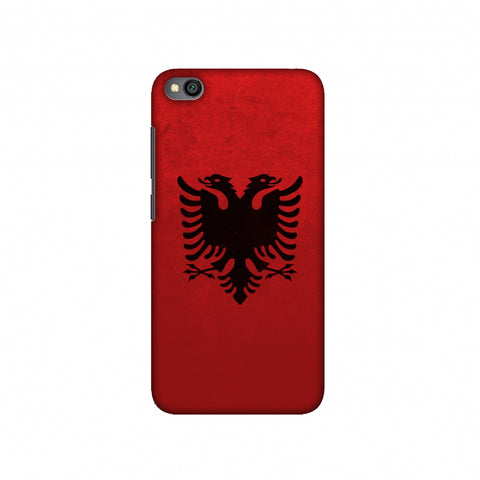 Love For Albania Slim Hard Shell Case For Redmi Go