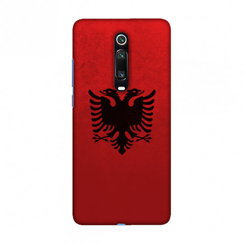 Love For Albania Slim Hard Shell Case For Redmi K20/K20 Pro