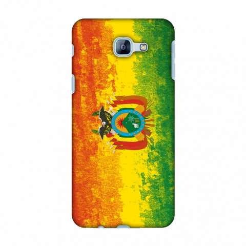 Love For Bolivia Slim Hard Shell Case For Samsung Galaxy A8 2016