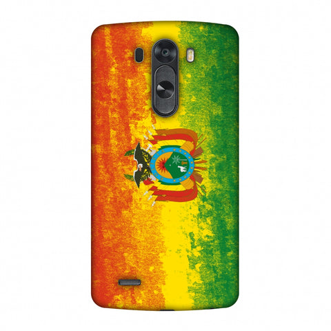 Love For Bolivia Slim Hard Shell Case For LG G4