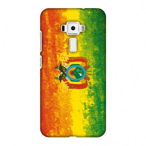 Love For Bolivia Slim Hard Shell Case For Asus Zenfone 3 ZE520KL