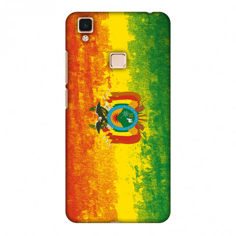 Love For Bolivia Slim Hard Shell Case For Vivo V3 Max