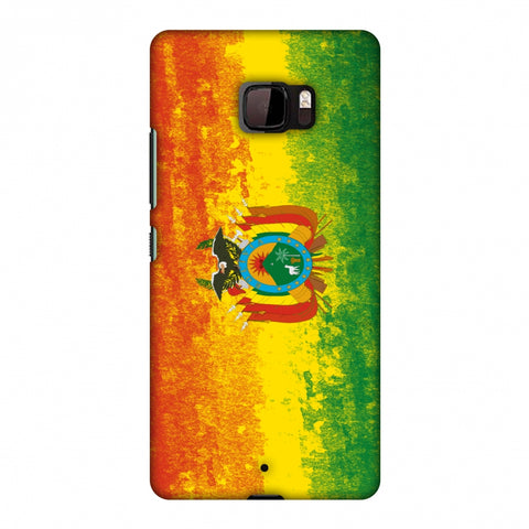 Love For Bolivia Slim Hard Shell Case For HTC U Ultra
