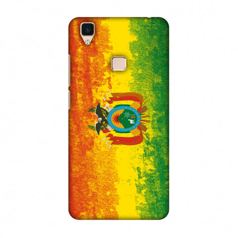 Love For Bolivia Slim Hard Shell Case For Vivo V3