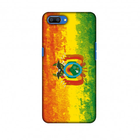 Love For Bolivia Slim Hard Shell Case For Oppo Realme C1
