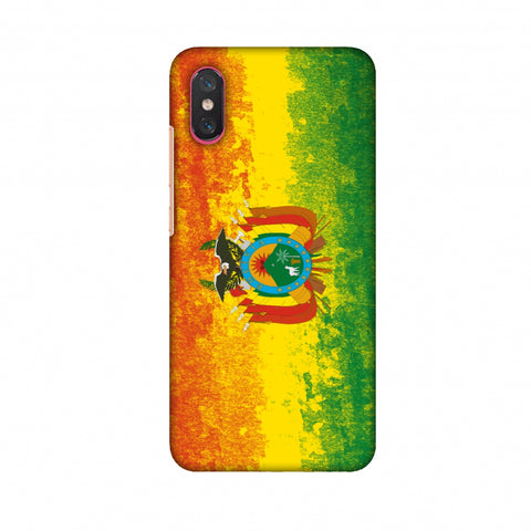 Love For Bolivia Slim Hard Shell Case For Xiaomi Mi 8 Pro