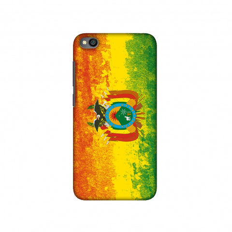 Love For Bolivia Slim Hard Shell Case For Redmi Go