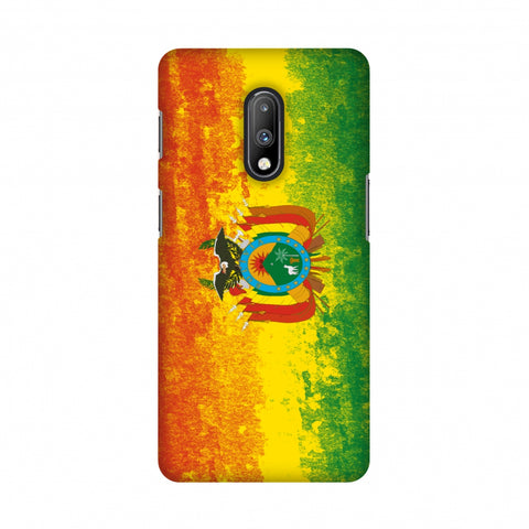 Love For Bolivia Slim Hard Shell Case For OnePlus 7