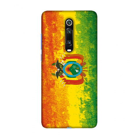 Love For Bolivia Slim Hard Shell Case For Redmi K20/K20 Pro