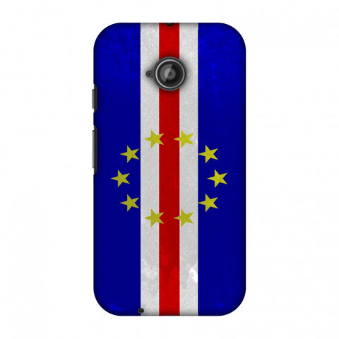 Love For Cape Verde Islands Slim Hard Shell Case For Motorola Moto E 2nd Gen