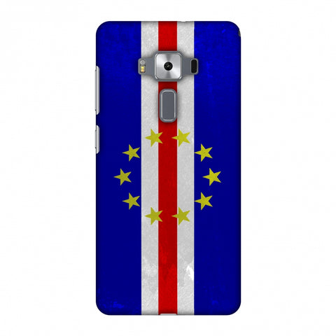 Love For Cape Verde Islands Slim Hard Shell Case For Asus Zenfone 3 Deluxe ZS570KL
