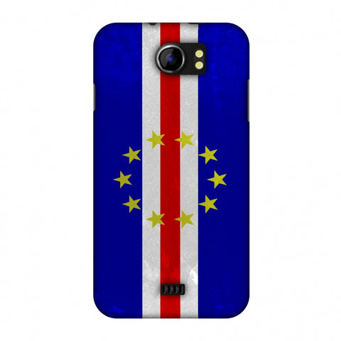 Love For Cape Verde Islands Slim Hard Shell Case For Micromax Canvas 2 A110