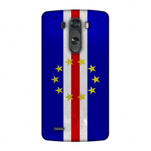 Love For Cape Verde Islands Slim Hard Shell Case For LG G4