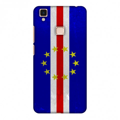 Love For Cape Verde Islands Slim Hard Shell Case For Vivo V3 Max