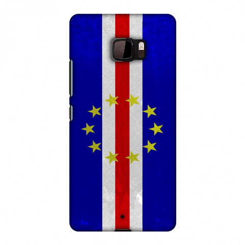 Love For Cape Verde Islands Slim Hard Shell Case For HTC U Ultra