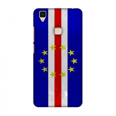Love For Cape Verde Islands Slim Hard Shell Case For Vivo V3