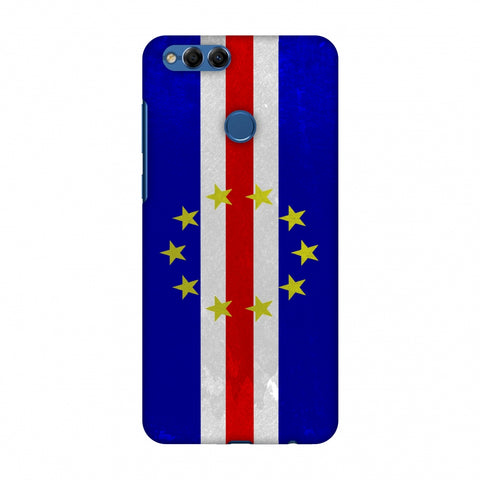 Love For Cape Verde Islands Slim Hard Shell Case For Huawei Honor 7X