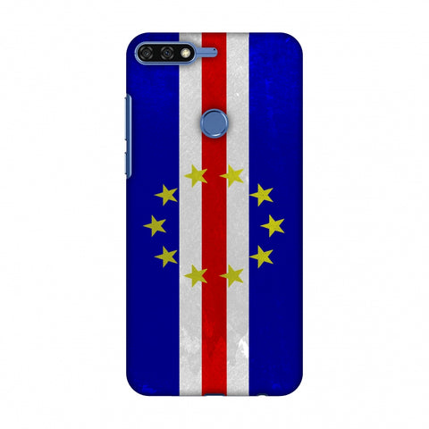 Love For Cape Verde Islands Slim Hard Shell Case For Huawei Honor 7C