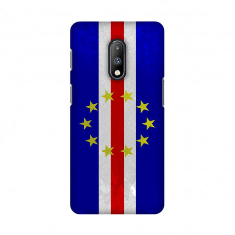 Love For Cape Verde Islands Slim Hard Shell Case For OnePlus 7