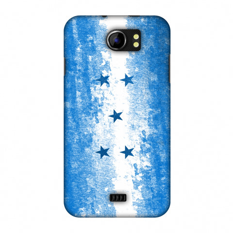 Love For Honduras Slim Hard Shell Case For Micromax Canvas 2 A110