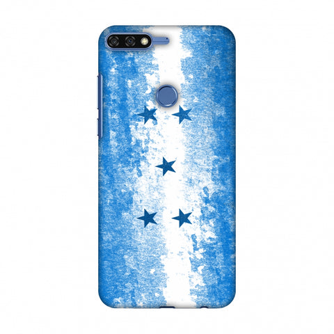 Love For Honduras Slim Hard Shell Case For Huawei Honor 7C