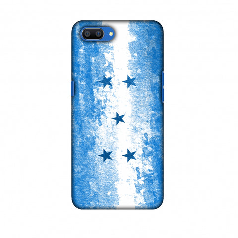 Love For Honduras Slim Hard Shell Case For Oppo Realme C1