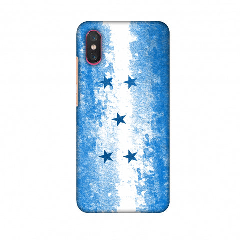 Love For Honduras Slim Hard Shell Case For Xiaomi Mi 8 Pro