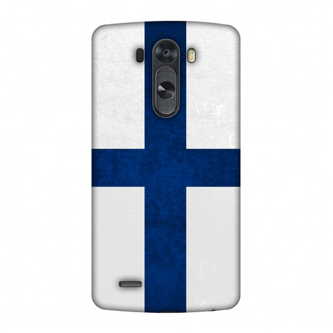 Love For Finland Slim Hard Shell Case For LG G4