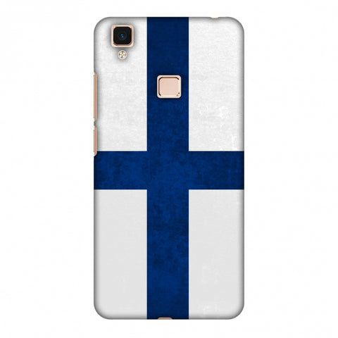 Love For Finland Slim Hard Shell Case For Vivo V3 Max
