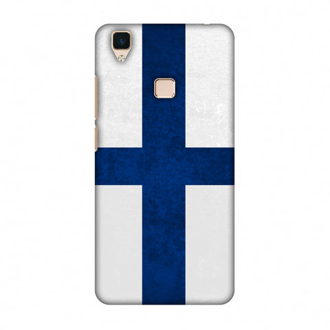 Love For Finland Slim Hard Shell Case For Vivo V3