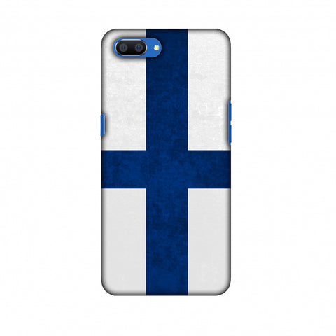 Love For Finland Slim Hard Shell Case For Oppo Realme C1