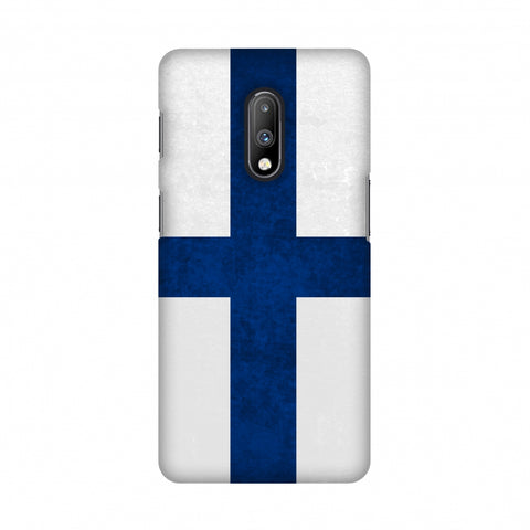 Love For Finland Slim Hard Shell Case For OnePlus 7