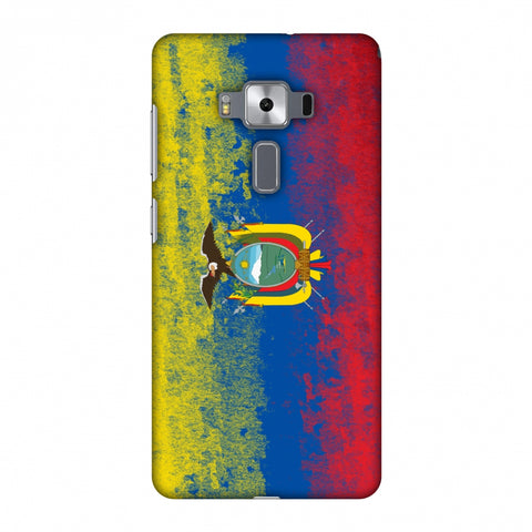 Love For Ecuador Slim Hard Shell Case For Asus Zenfone 3 Deluxe ZS570KL