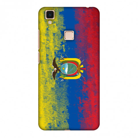Love For Ecuador Slim Hard Shell Case For Vivo V3 Max