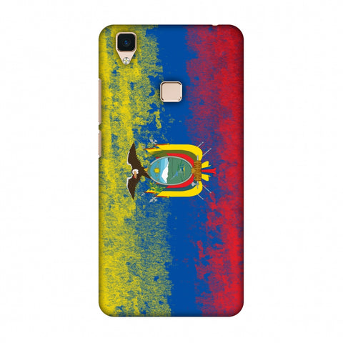 Love For Ecuador Slim Hard Shell Case For Vivo V3