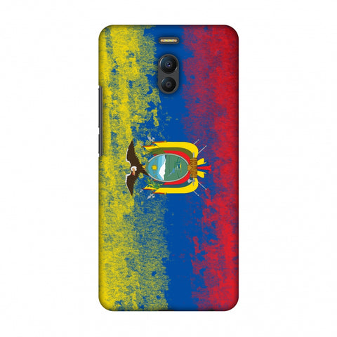 Love For Ecuador Slim Hard Shell Case For Meizu Note 6