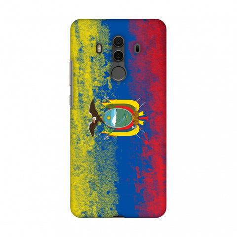 Love For Ecuador Slim Hard Shell Case For Huawei Mate 10 Pro