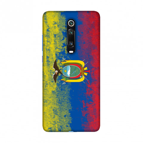 Love For Ecuador Slim Hard Shell Case For Redmi K20/K20 Pro