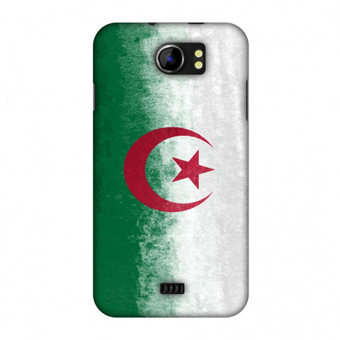 Love For Algeria Slim Hard Shell Case For Micromax Canvas 2 A110