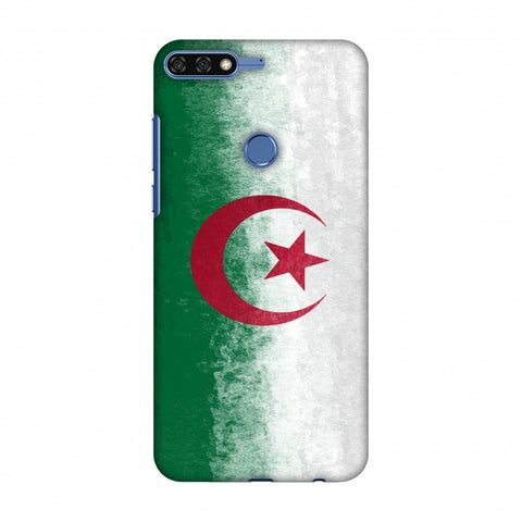 Love For Algeria Slim Hard Shell Case For Huawei Honor 7C