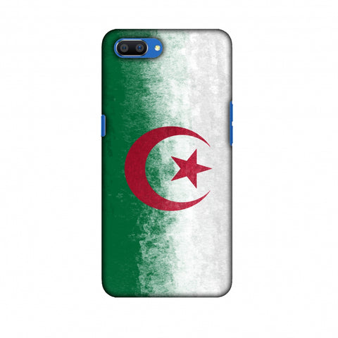 Love For Algeria Slim Hard Shell Case For Oppo Realme C1
