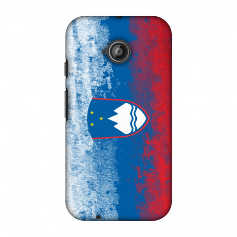 Love For Slovenia Slim Hard Shell Case For Motorola Moto E 2nd Gen