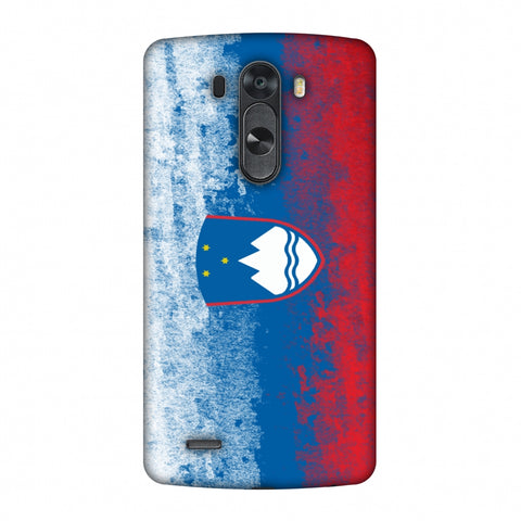 Love For Slovenia Slim Hard Shell Case For LG G4